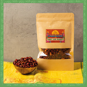 CURRY LEAF PEANUTS (100g)
