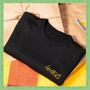 HOPPERS BLACK SWEATSHIRT