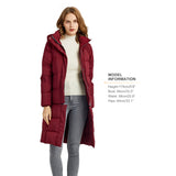 Load image into Gallery viewer, Orolay Women's Long Hooded Warm Puffer Down Coat OWD1108X