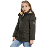Charger l'image dans la galerie, Orolay Kid's Winter Fleece Lining Hood Puffer Down Jacket OKD6125W