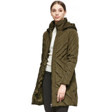 Load image into Gallery viewer, Orolay Women's Down Jacket Winter Removable Hooded Coat YRF2010S