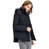 Load image into Gallery viewer, Orolay Women's Hooded and Pockets Puffer Jacket OWD1075W