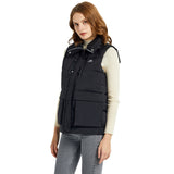 Load image into Gallery viewer, Orolay Women's Packable Stand Collar Puffer Light Down Vest OWD7089X