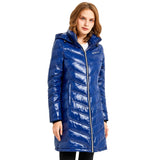 Load image into Gallery viewer, Orolay Women's Long Quilted Hooded Puffer Down Jacket OWD1118X