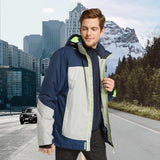 Load image into Gallery viewer, Orolay Men's Waterproof Windproof Hooded Fleece Sport Jacket HXF-M01