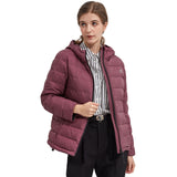 Load image into Gallery viewer, Orolay Women's Short Puffer Jacket Stand Collar Down Coat OWD1066X