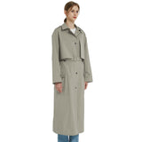 Charger l'image dans la galerie, Orolay Women's Long Belted Double Breasted Trench Coat OWE5243W