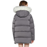 Load image into Gallery viewer, 『PRE-SALE』Orolay Women's Thickened Bubble Inner Hooded Puffer Down Coat YRF8129