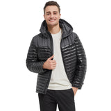 Load image into Gallery viewer, Orolay Men's Thickened Short Hoodie Down Jacket OMD1055X