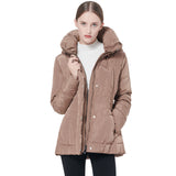Load image into Gallery viewer, Orolay Women's Short Down Coat with Removable Hood YRF1021M
