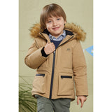 Load image into Gallery viewer, Orolay Kid's Winter Warm Hooded Puffer Jacket OKD1138W