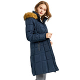 Load image into Gallery viewer, Orolay Women's Puffer Faux Fur Trim Hood Down Coat YRF8020Q