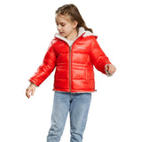 Load image into Gallery viewer, Orolay Kid's Fleece Down Jacket Warm Hooded Puffer Jacket OKD1121W