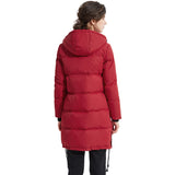 Load image into Gallery viewer, Orolay Women's Winter Long Parka Coat Hooded Down Jacket YRF9008W