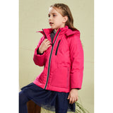 Laden Sie das Bild in den Galerie-Viewer, Orolay Kid's Light Hooded WinterStand Collar Puffer Jacket OKD1098W