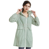 Load image into Gallery viewer, Orolay Women's Sun Protective Hooded Packable Jacket OWD5058W