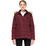 Cargar imagen en el visor de la galería, Orolay Women's Short Down Coat with Removable Elastic Belt YRF8026Q