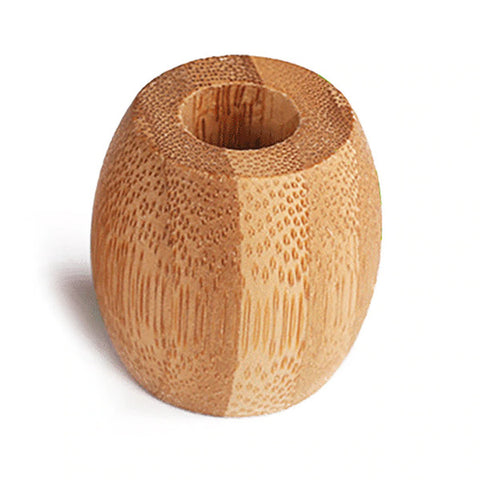 High quality bamboo toothbrush holder.