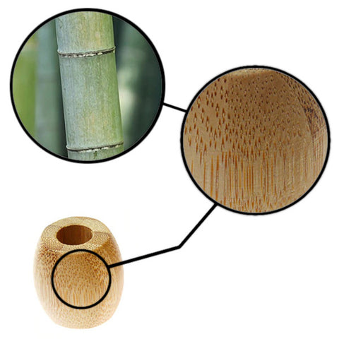 Smooth surface made from all-natural bamboo.