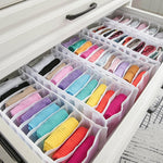 11 section mesh nylon underwear socks or scarfs wardrobe drawer organizer