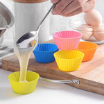 High temperature silicone mold for small cake baking - muffin cupcake cup