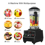 2200 watt professional pre-programmed smart timer blender with manual rotary selection controls plus dry grinder jar