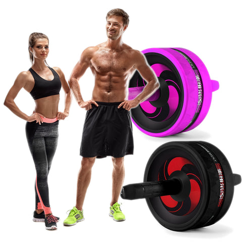 Get sexy abs with this abdominal workout wheel.