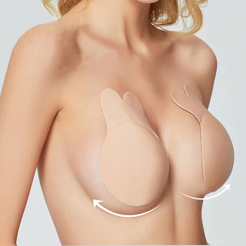 Breathable silicone breast lifting stickers.