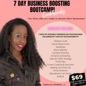 7 Day Business Boosting Bootcamp