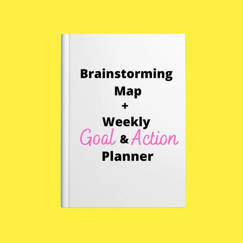 Brainstorming Map + Weekly Planner