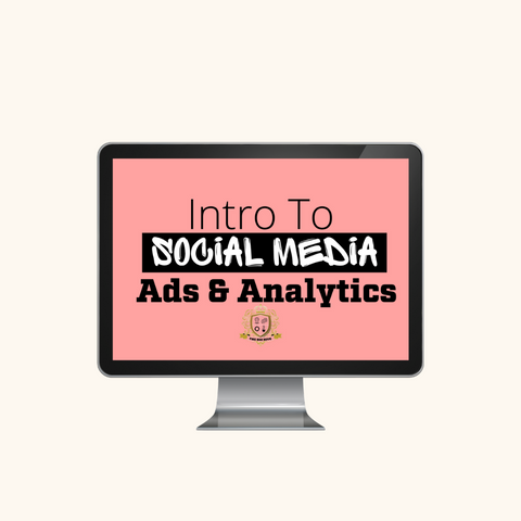 Intro To Social Media Ads & Analytics Course