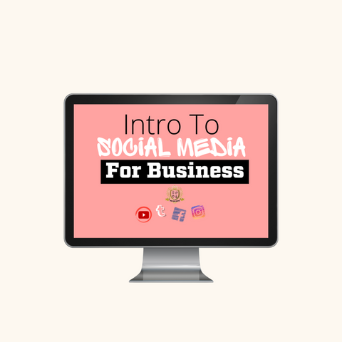 Intro To Social Media For Business Course