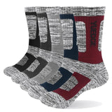 YUEDGE - PAIR OF 5 WINTER SOCKS