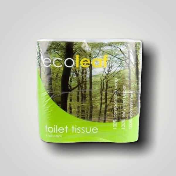 Toilet Roll - EcoLeaf (pack of 4)