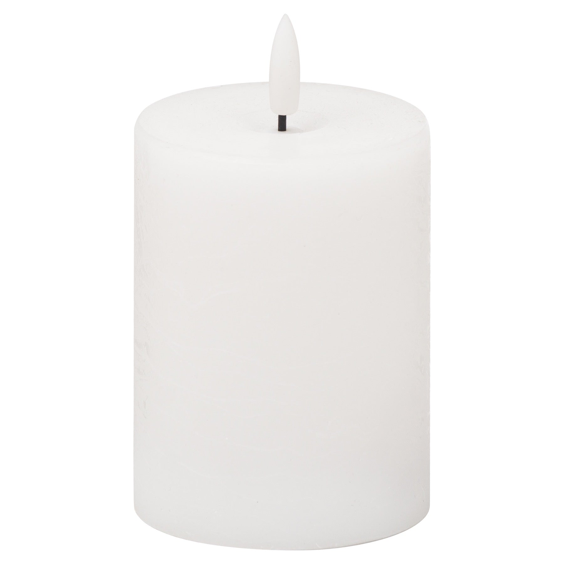 White Luxe Collection Natural Glow 3x4 LED Candle