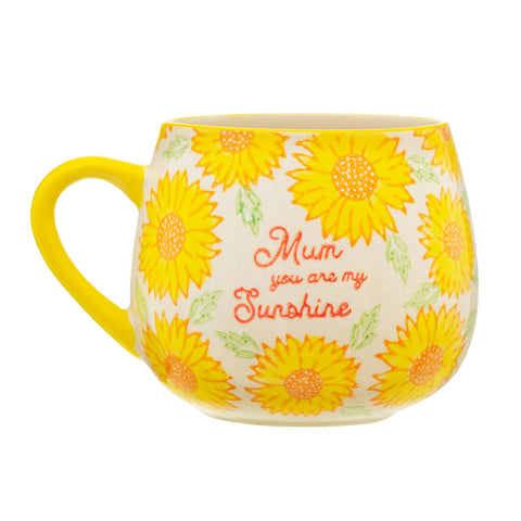 Cute Yellow Sunflower Mum Mug