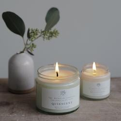 Quiescent Soy Wax Candle Botanical Candle Co