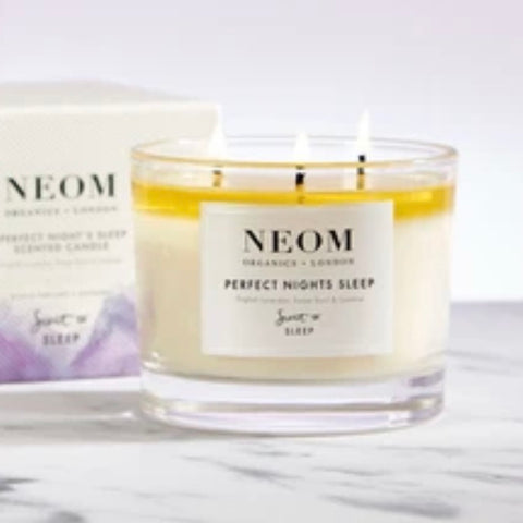 NEOM 3 Wick Candle - Perfect Nights Sleep Tranquility