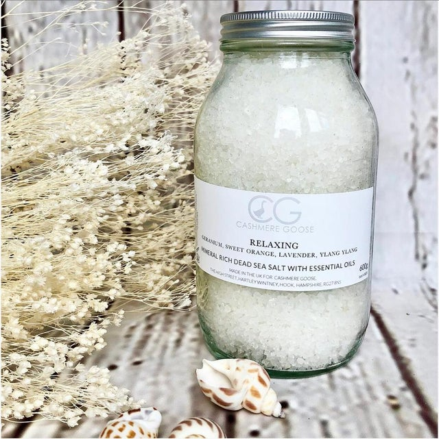 CG Mineral Rich Dead Sea Salt with Essential Oils - 2 Scents Available