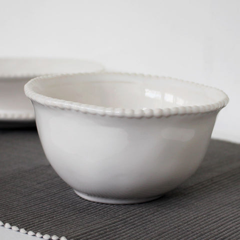 White Bobble Cereal Bowl