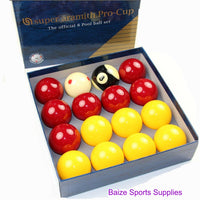 "Aramith Pro Cup 2"" Pool Balls - (Boxed or case options)"