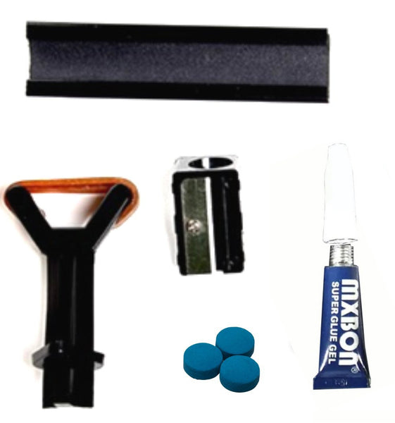 Cue Tip Repair - Essensial Kit (5pc)