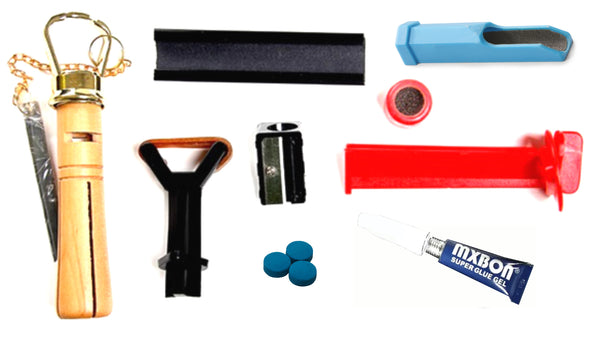 Snooker - Pool Tip Repair Kit Purchase Individual or Kit
