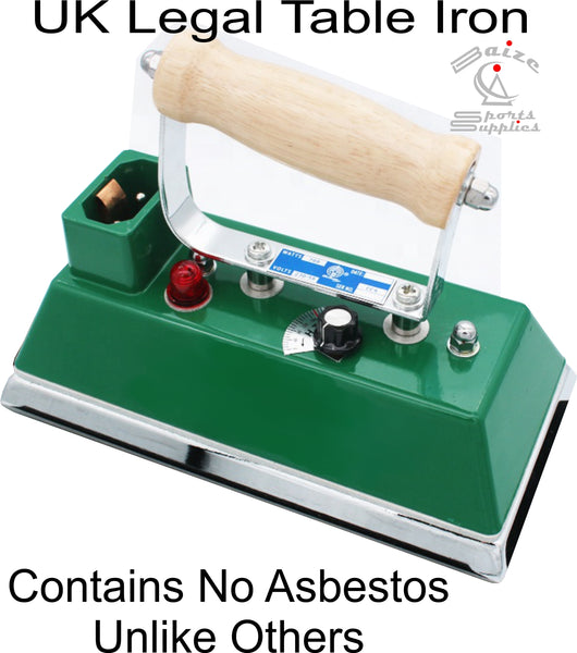 Snooker Table Iron. *NEW* UK Legal with No Asbestos. Brand New & Warranty