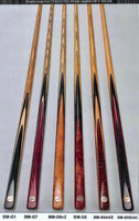 1 Piece Baize Master Gold Series Cues 8mm - 8.5mm