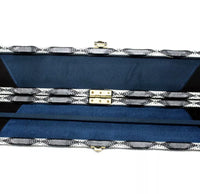 3/4 Cue Cases - Leather PU - Diamond Check