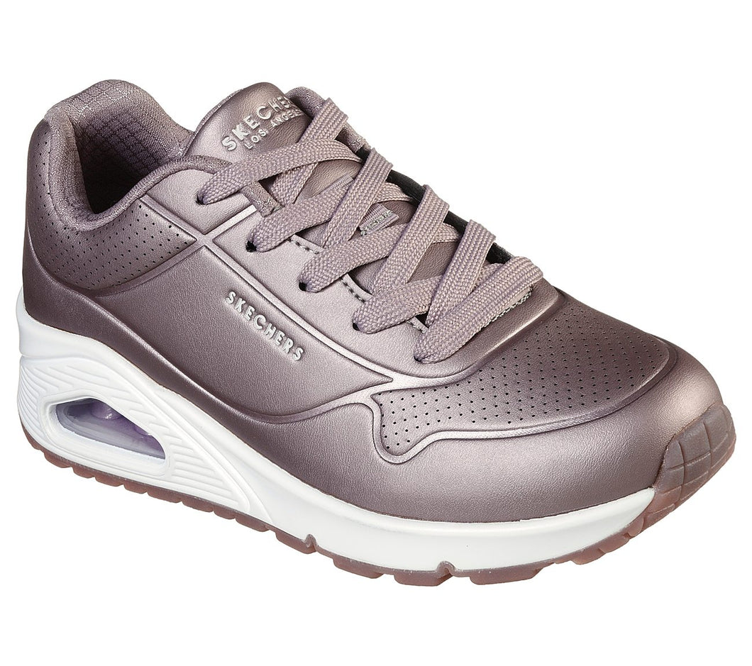 Skechers Rose bold Pewter Trainers