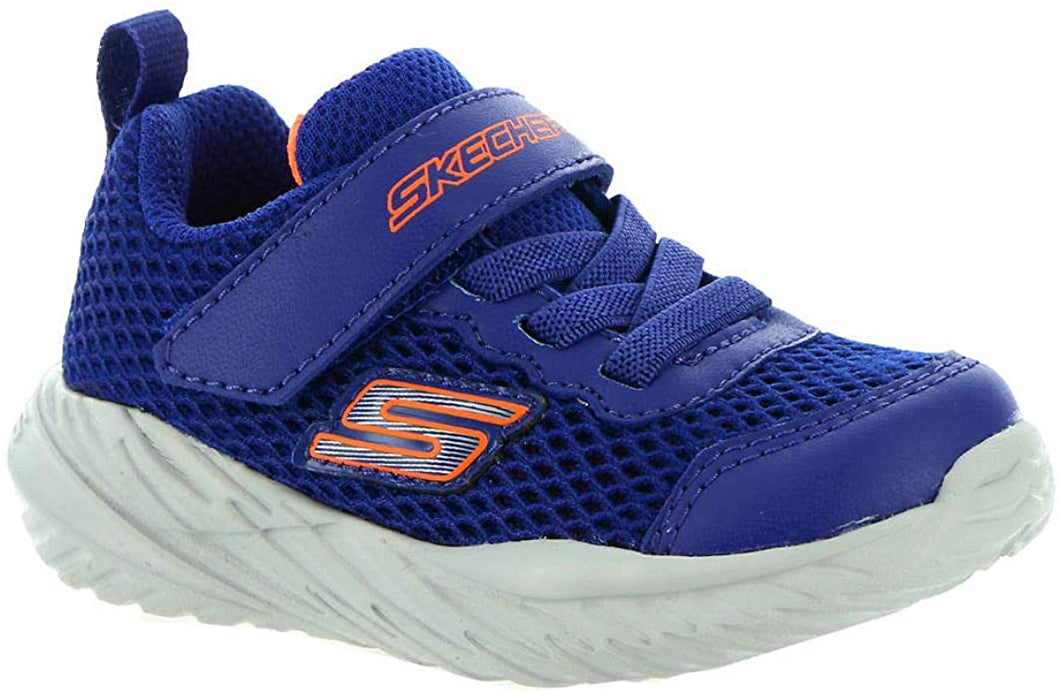 Skechers Krodon Blue Orange Trainers