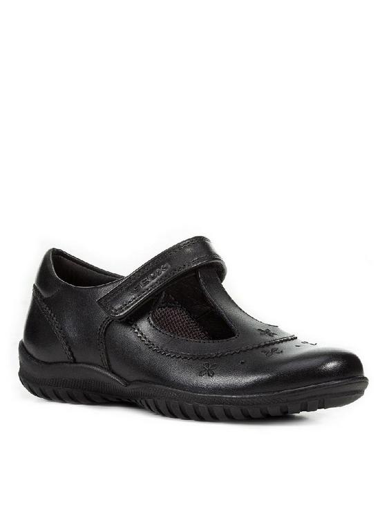 Geox Shadow T-Bar School Shoes