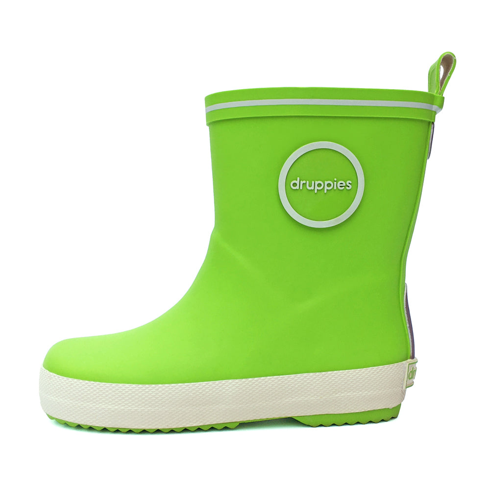 Druppies Green Fashion Wellies